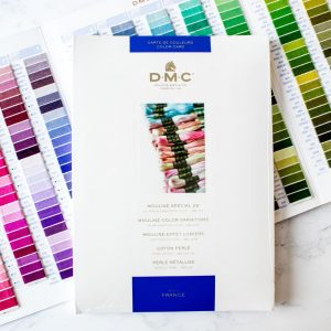 DMC Colour Card with Thread Samples W100B